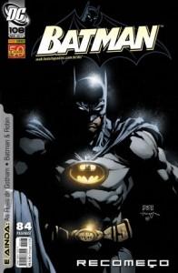 batman 108 capa recomeço