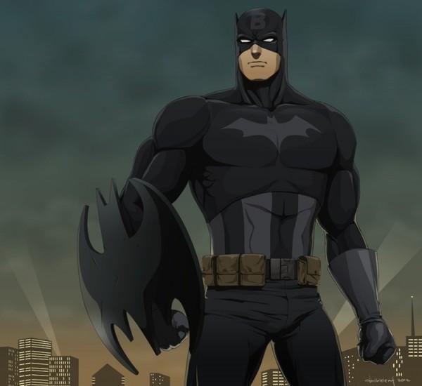 Batman com Capitão America