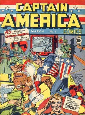 Captain America Comics mar 1941