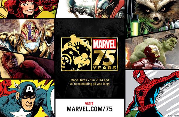 Marvel 75 anos