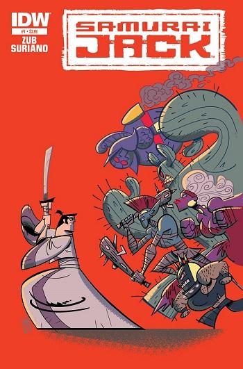 Samurai Jack idw