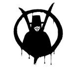 v de vingança simbolo