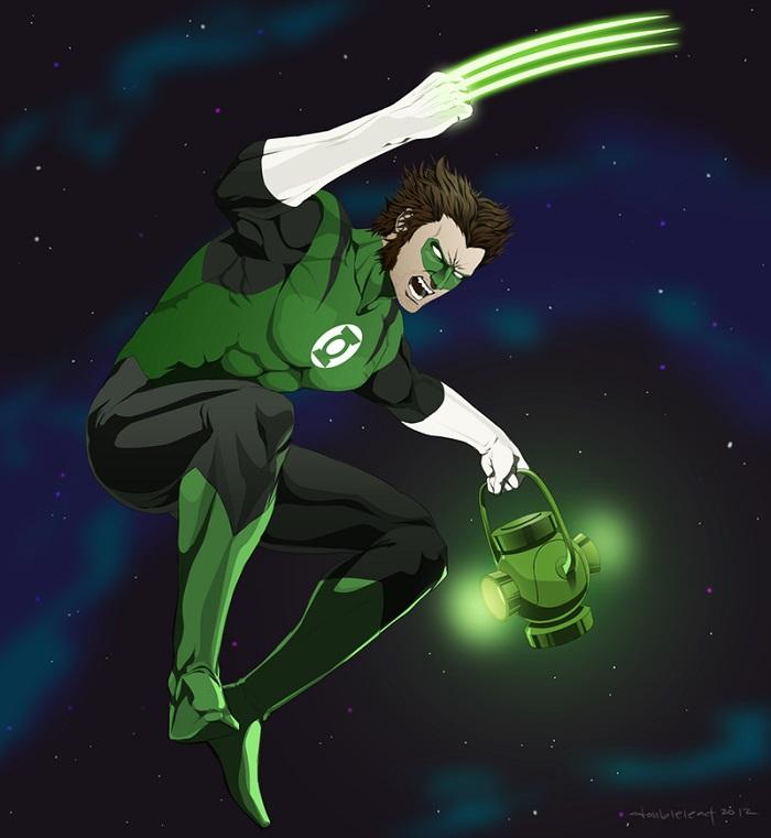 Wolverine-com-Lanterna-Verde