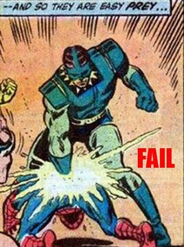 fail comic spiderman