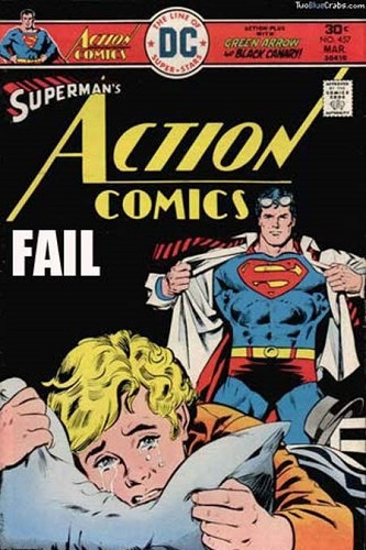 fail comic superman