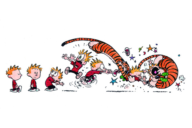 hobbes-calvin-fight