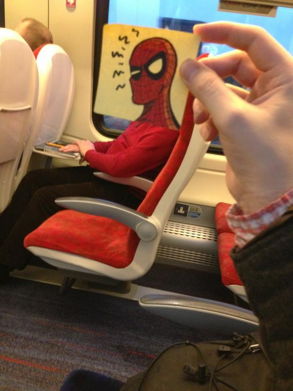 spider-post-it