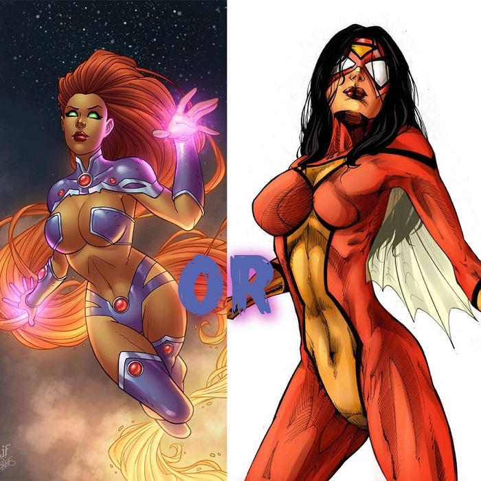 starfire-spiderwoman